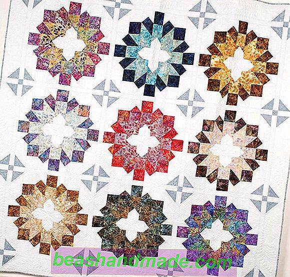 KIT COMPLETO Trapunta Patchwork Quilting Set Cuscino KIT VIOLA facile primo progetto!